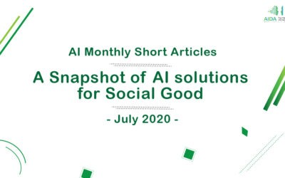 A Snapshot of AI solutions for Social Good