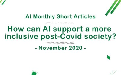 How can AI support a more inclusive post-Covid society?