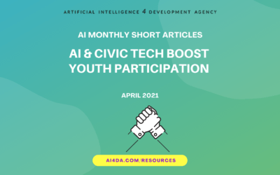 AI & CIVIC TECH BOOST YOUTH PARTICIPATION